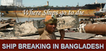 Ship breaking in Bangladesh Web Portal