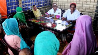 বাস্তুচ্যুত রোহিঙ্গাদের জন্য নারী বান্ধব কেন্দ্র স্থাপন করেছে ইপসা