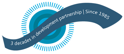 3 decades in development partnership, since 1985