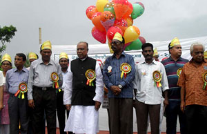 ABM Abul Kashem, MP, Chairman of the parliamentary standing committee on commerce ministry inaugurated the celebration