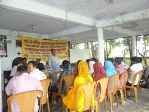 Rally on World No Tobacco Day in Begumganj