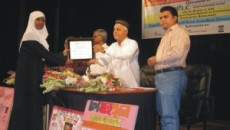Certificate given ceremony