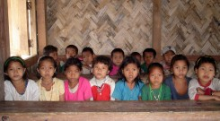 Indigenous children in a School
