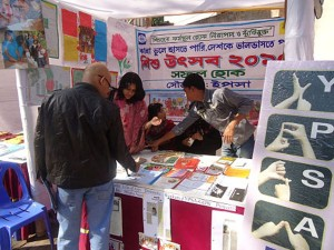 YPSA Stall at Child Festival