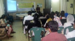 Orientation for graduate doctor at Chittagong Maa O Shishu General Hospital