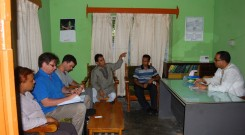 Meeting with UNO at Sitakunda