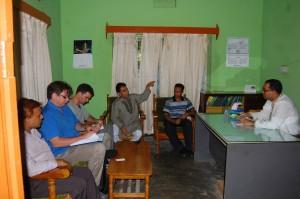Meeting with UNO at Sitakunda