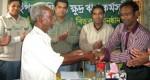 Mr. Sayed Akter Program Officer, YPSA at the crop loan distribution program