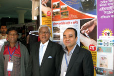 BRAC Chairperson Mr. F. H Abed visited YPSA Stall at Nagorik Adhikar Mela (Citizen Rights Fair) held at Shilpa Kala Academy, Dhaka.