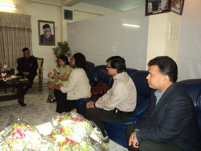 CTFK team met with Chittagong City Mayor