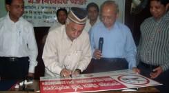 Mayor of Chittgong City Corporation declared smokfree workplace