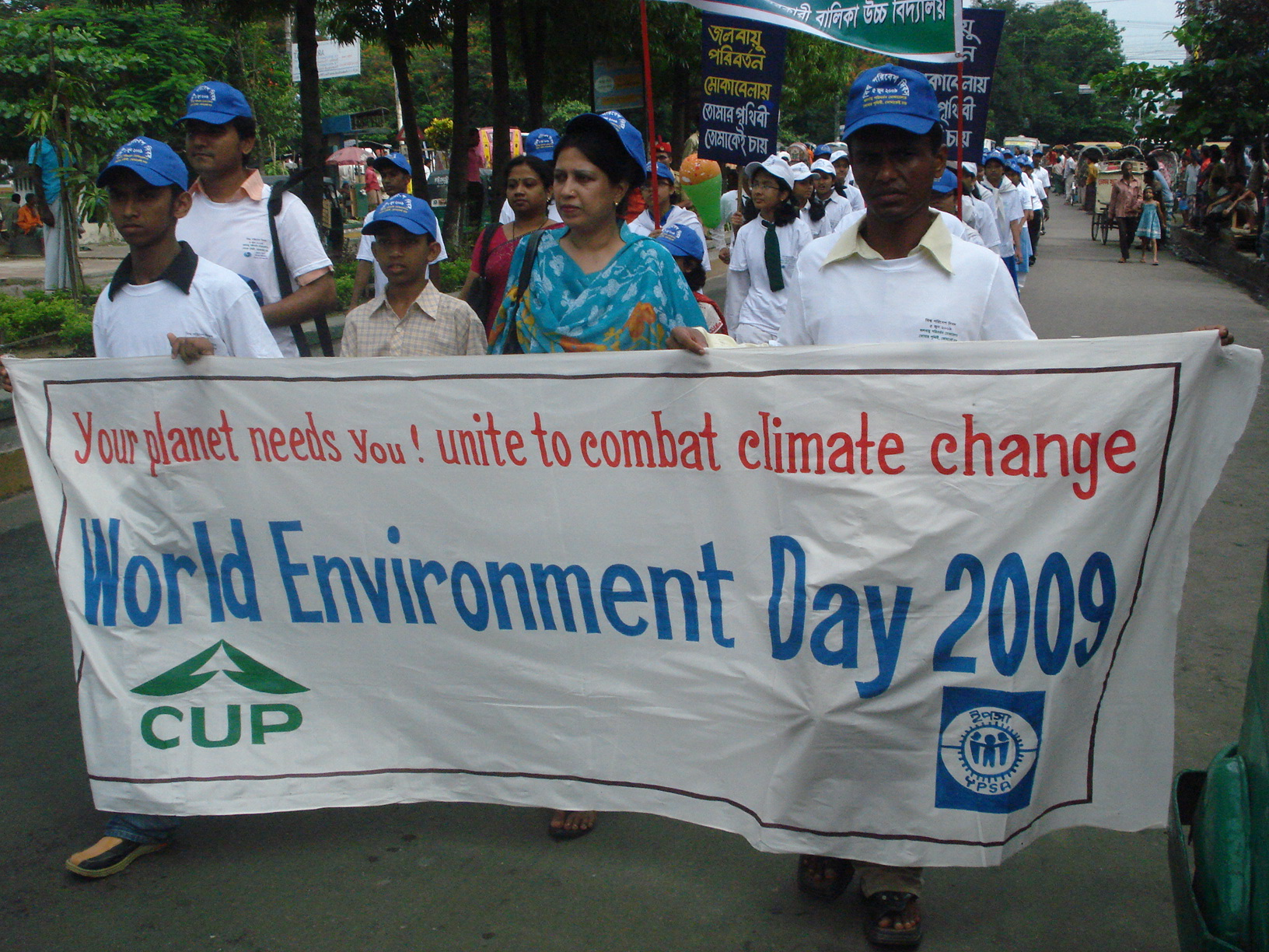 Rally on Environment day 2009