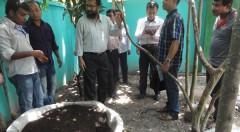 Vermicompost fertilizer production