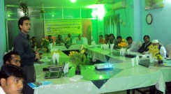 Workshop presentation at Laxmipur