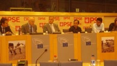 YPSA Official represented at the event of European Parliament