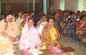 Woman participants