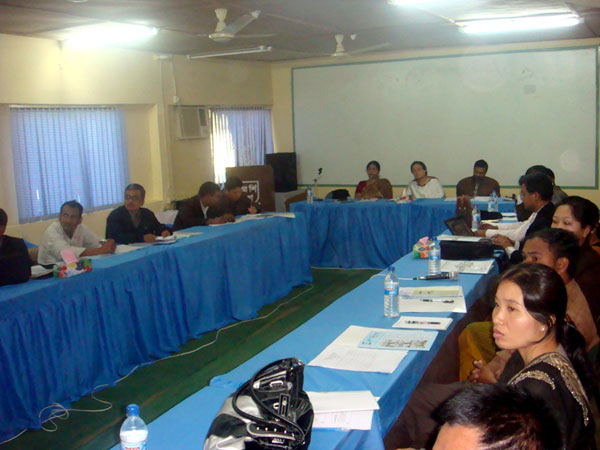 Event Workshop at Rangamati