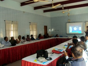Event workshop at Satkhira