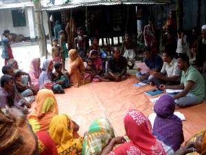 FGD session at Sirajgonj