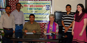 Formal MOU Signing Between YPSA and WCA