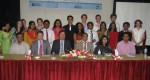 Mr. Ehsan Ul Fattah, Secretary, Ministry of Youth and Sports, Government of the People's Republic of Bangladesh is seen with the UK and Bangladeshi Volunteers and other Guests