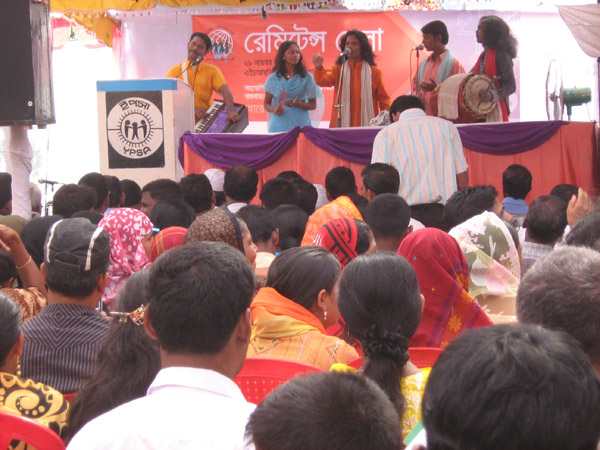 Cultural program at Remittance Fair