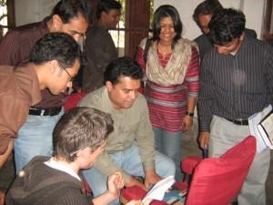 Md. Arifur Rahman with GX team