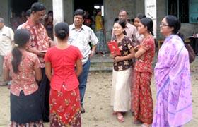 LSE participants at Cox's Bazar