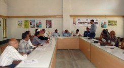 Meeting with law & Enfocement authority and Upazilla Administration at Ukhiya