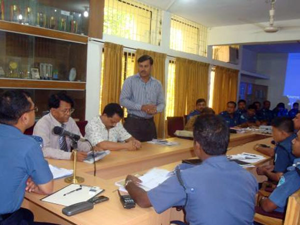 Meeting with police department