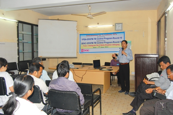 Orientation for Graduate PP at Maa , Shishu O General Hospital