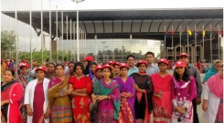 group photo in front of Bangabandhu International Conference Centre