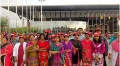 group photo in front of Bangabandhu International Conference Centre