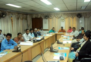 Participants of Advocacy meetings at Bogra