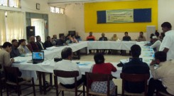 Participants on advocacy meeting at Noakhali