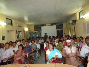 Discussion meeting at Rangamati