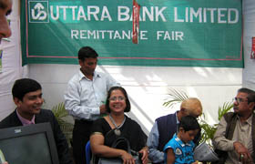 Uttara Bank Stall