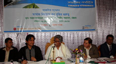 """Meeting on """"importance of tax mounting to control tobacco use"""" at Chittagong"""