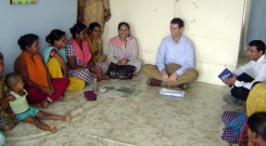 USAID team visited YPSA's HIV program