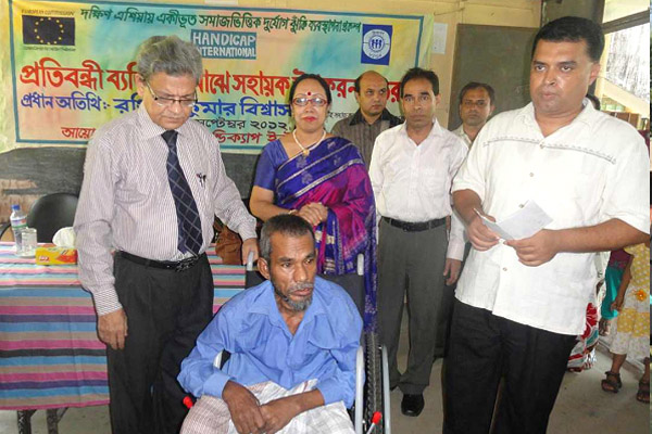 Dr. Ranajit Kumar Biswas a Persons with disability
