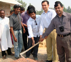 Installation of water & sanitation facilities in cyclone shelter cum school at Cox's Bazar