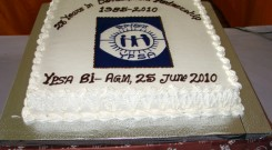 YPSA Bi-AGM 2010  Cake on 25th years of YPSA