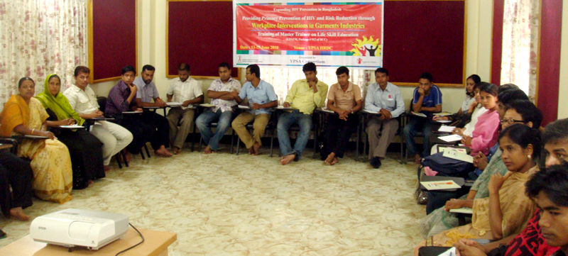YPSA-GFATM # 912 organized training on Life Skills Education for the Master Trainer