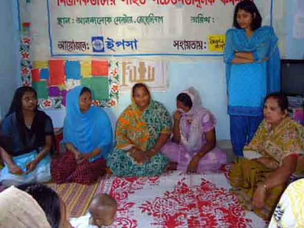 Workshop with employers of the Girl Domestic Workers