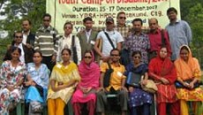 Group photo of youth PWDs