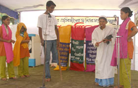 Drama performed by PWD's