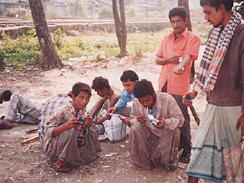 Heroin users in Chittagong