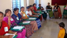 Indigenous participants in the workshop