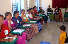 Indigenous participants in the workshop