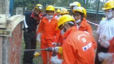 Rescue drill